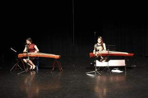 Elaine and Betty on the Guzheng