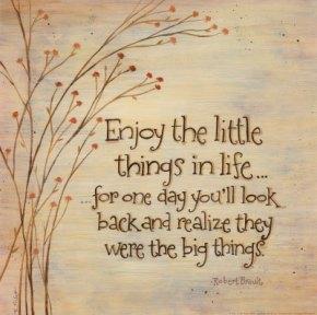 Rule 32: Enjoy the LittleThings
