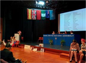 Model United Nations Assembly2015