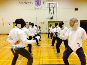 Co-Curricular Showcase: FencingClub